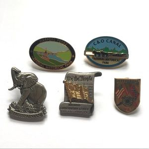 Museum and National Park Pin Bundle